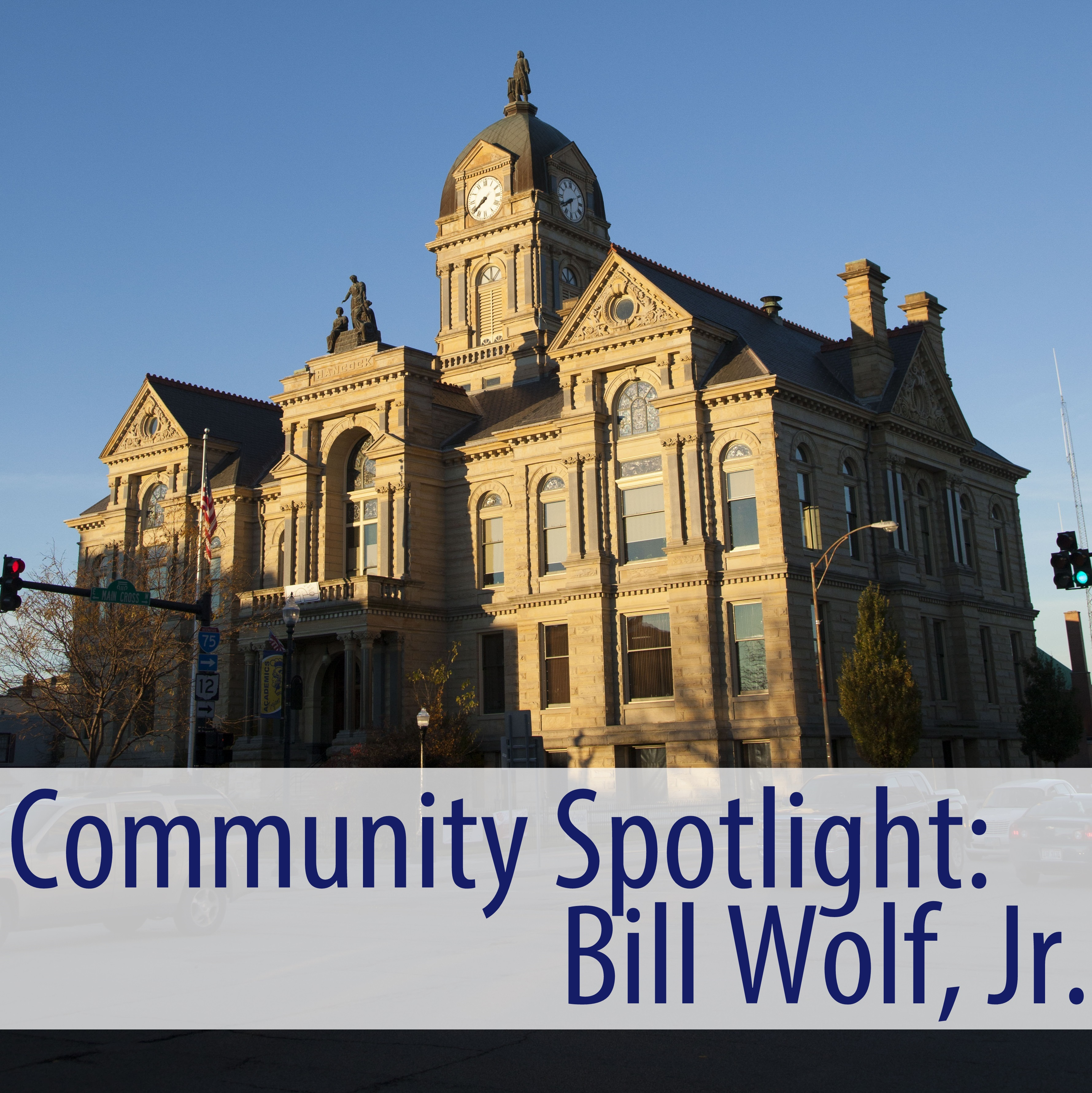 At the heart of Hancock County are the people who make up the community and this month we are shining the spotlight on Bill Wolf. the owner of Wolfies Nuts!